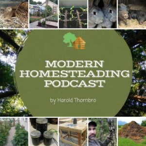 Photo of Modern Homesteading Podcast Logo