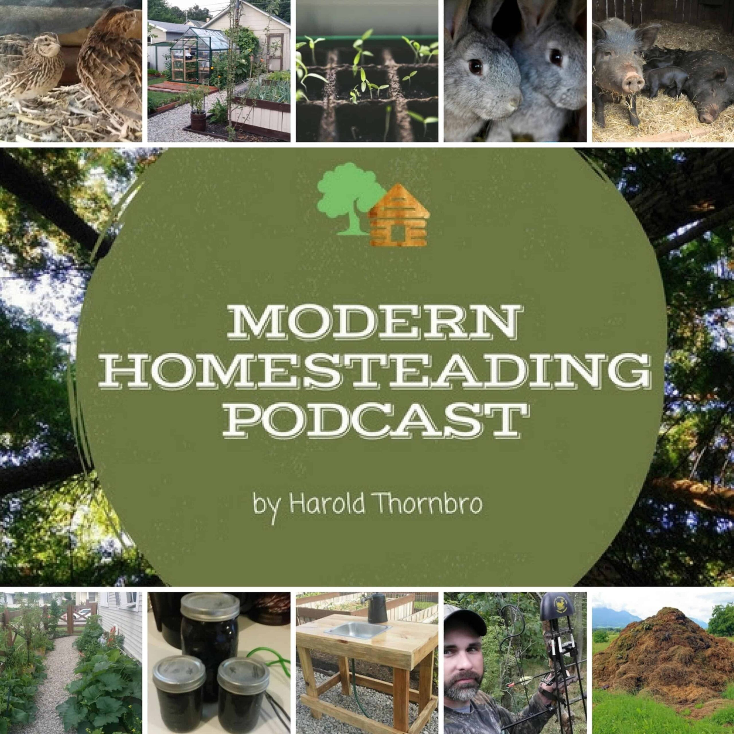 Having Fun While Making Homesteading A Reality With Guests Kevin and Heather O'Rourke