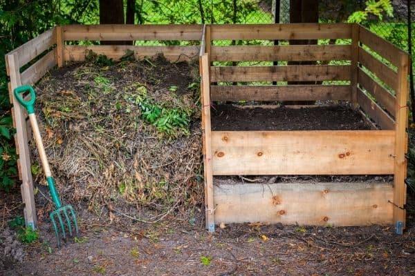 photo of compost bin