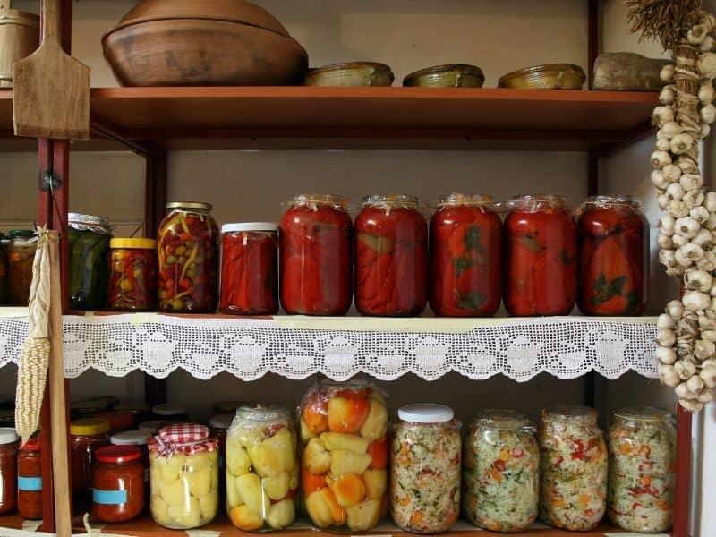 photo of food pantry
